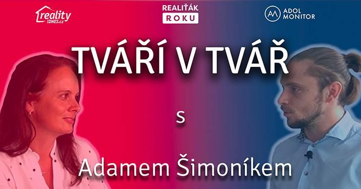 TVÁŘÍ V TVÁŘ - Adam Šimoník
