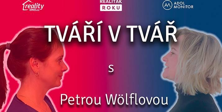 TVÁŘÍ V TVÁŘ - Petra Wölflová