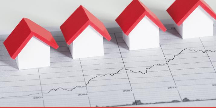 Předpoklad vývoje cen nemovitostí v dlouhodobém a krátkodobém horizontu.