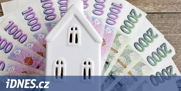 Byty jsou předražené, stěžuje si Česká národní banka